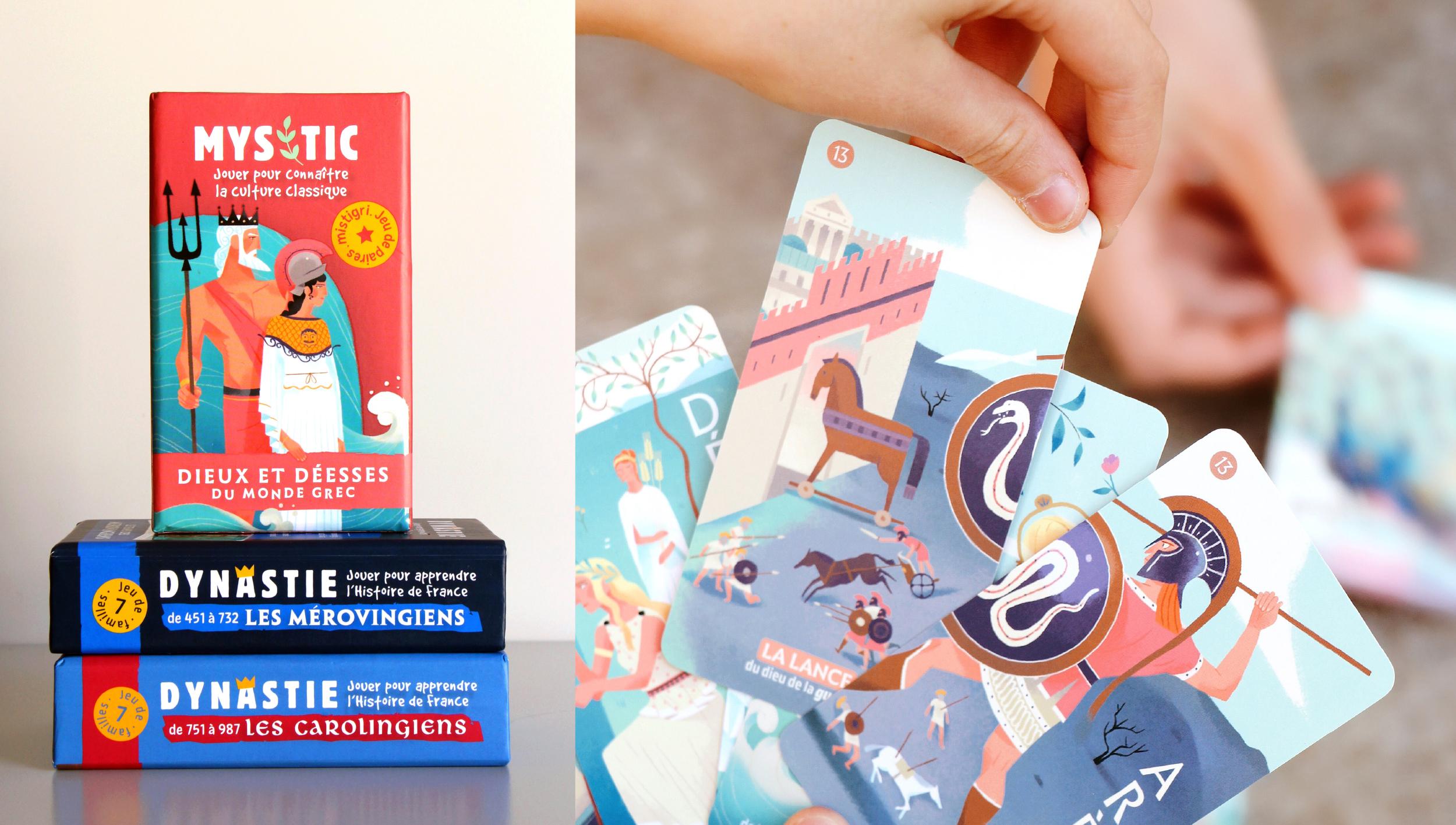 jeux de cartes ludiques pour découvrir histoire de france et culture classique